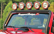 JK Wrangler Lights Covers